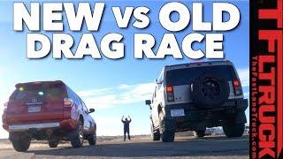 Toyota 4Runner vs Hummer H2 Drag Race: World's Most Hated Truck Ep.2 thumbnail
