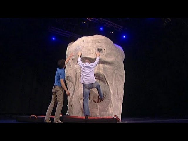 Kletter-Fail bei Stefan - TV total