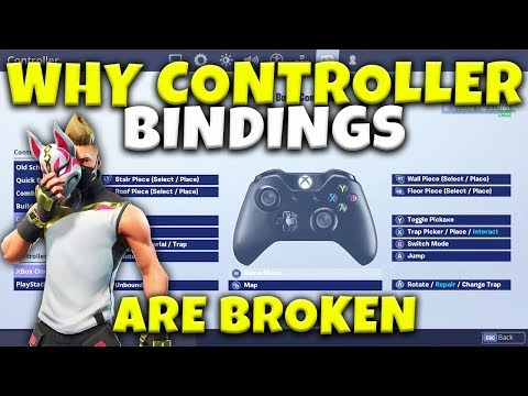 Why Fortnite Controller Custom Bindings Are Still Broken