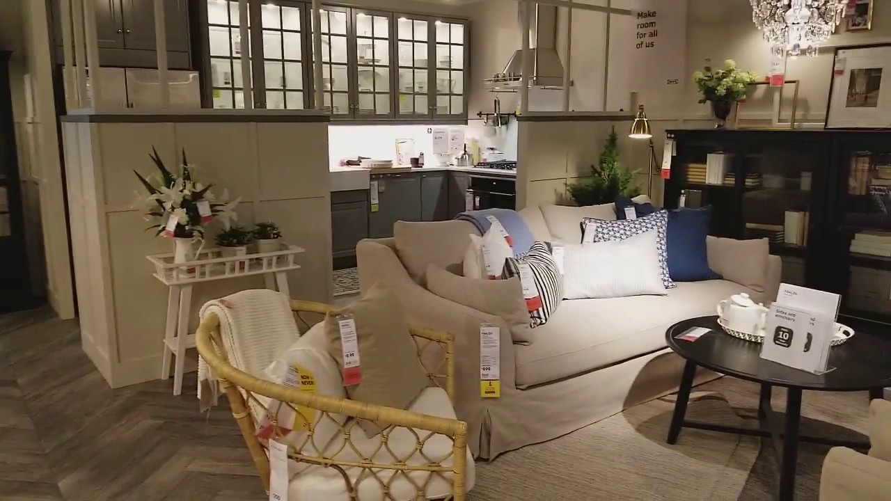 ikea showroom living room cheap decorating ideas 2018 youtube