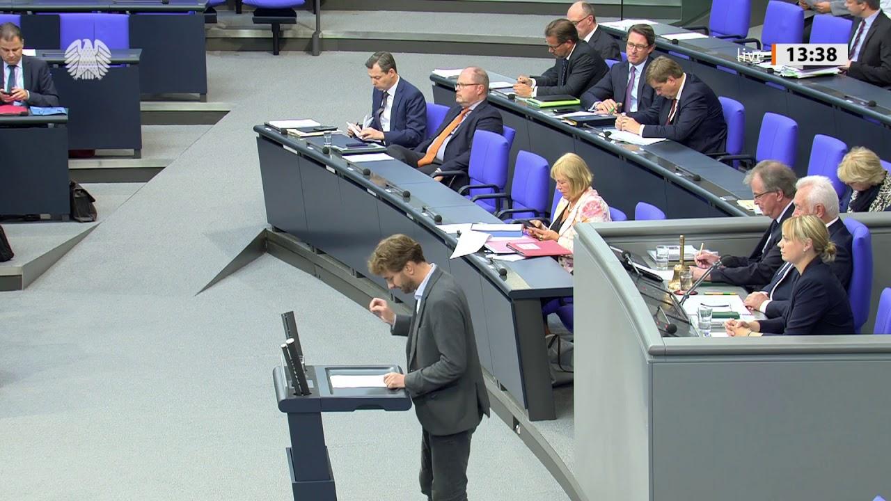 Haushaltsdebatte im Bundestag - Stefan Gelbhaar zum Etat für Radverkehr