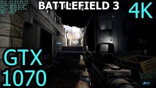 Battlefield 3 GTX 1070 OC   Ultra - 4K   FRAME-RATE TEST