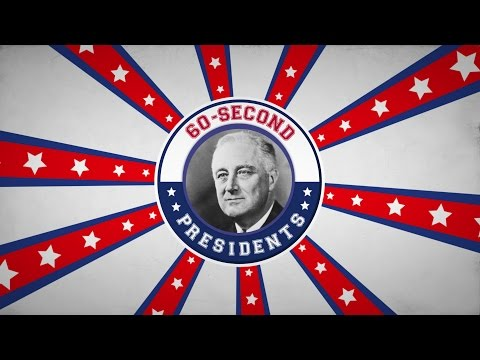 Franklin D. Roosevelt | 60-Second Presidents | PBS