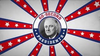 Franklin D. Roosevelt | 60-Second Presidents | PBS