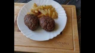 Котлеты в духовке с гарниром: рецепт от Foodman.club