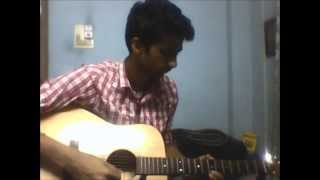 gabbar singh theme on guitar by Surya