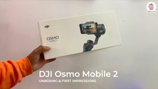 DJI OSMO Mobile 2 Gimbal for Smartphones: Unboxing & First Impressions