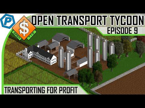 Open Transport Tycoon Deluxe | #9 | Grain & Livestock