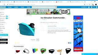 iten que esta por vim (Ice Command) RDC 2019, roblox
