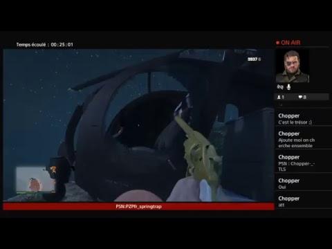 LIVE GTA Online CHASSE AU TRÉSOR
