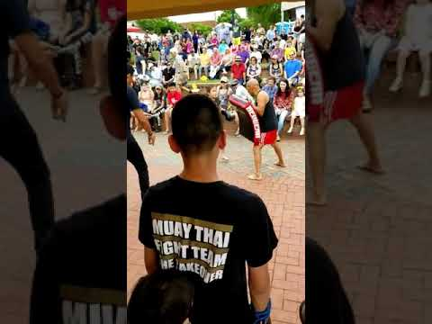 Kids Muay thai festival