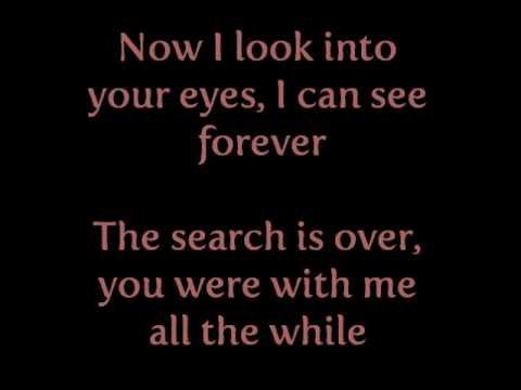 Jed Madela - The Search Is Over Lyrics