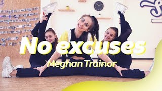 NO EXCUSES - MEGHAN TRAINOR | Dance Video | Choreography | Dansen met Luna & Hailey