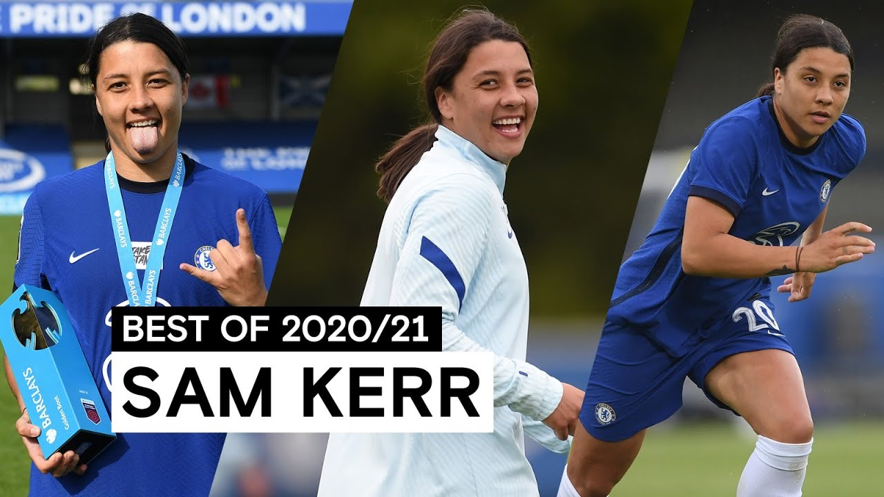 Electric On The Pitch, Composed In Front Of Goal | Sam Kerr | Best Of 2020/21