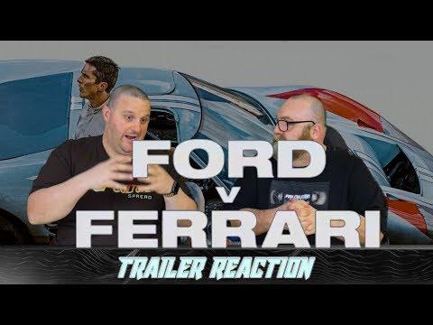 Ford v Ferrari Trailer #2 Reaction