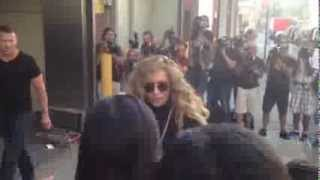 Lady GaGa meets fans at NYC Studio August 2013 Thumbnail