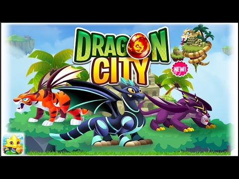 Dragon City - Mini Jungle Island + Fighting PVP [First Looks]