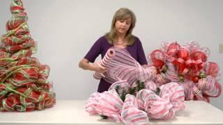 Repeat youtube video How to: Make a Geo Mesh Wreath