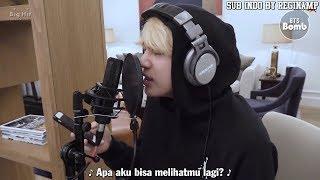 [INDO SUB] [BANGTAN BOMB] Jin, Recording his first ever composition - BTS (방탄소년단)