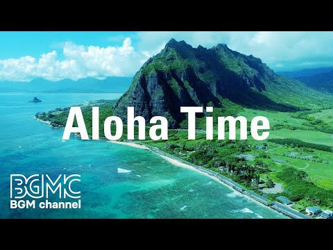 Aloha Time:  of Hawaii - Relaxing Surf Guitar  for Study Work