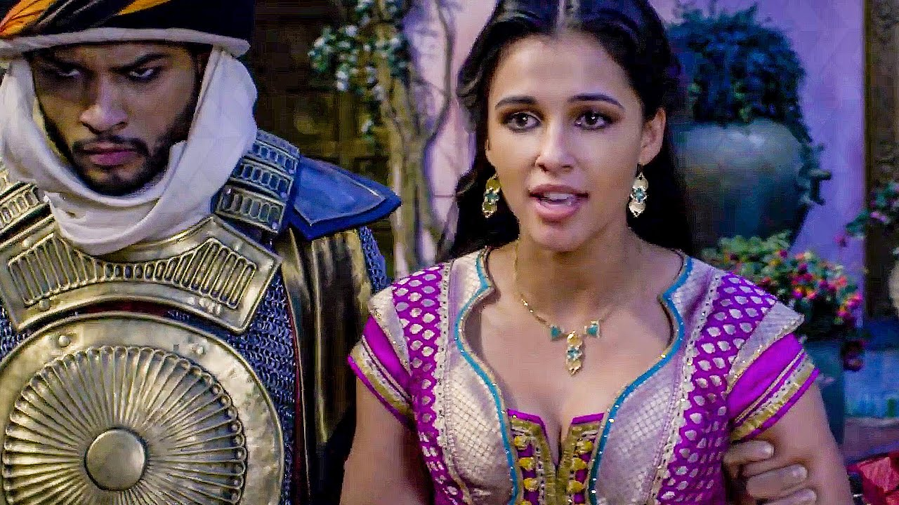 Naomi Scott sings Speechless Scene - ALADDIN (2019) Movie Clip