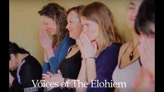 """Gambar cover """"Le Voci degli Elohim"""" con Robert Haig Coxon e Lilly Wong"""