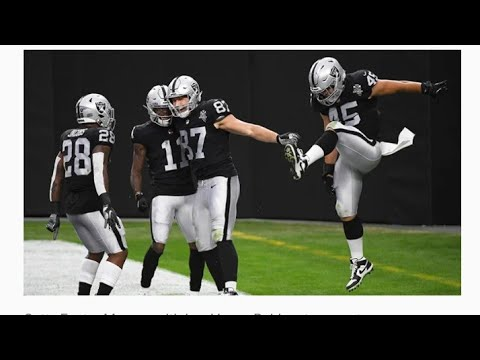 Las Vegas Raiders Very Excited About Tight End Foster Moreau Play Making Ability By Eric Pangilinan