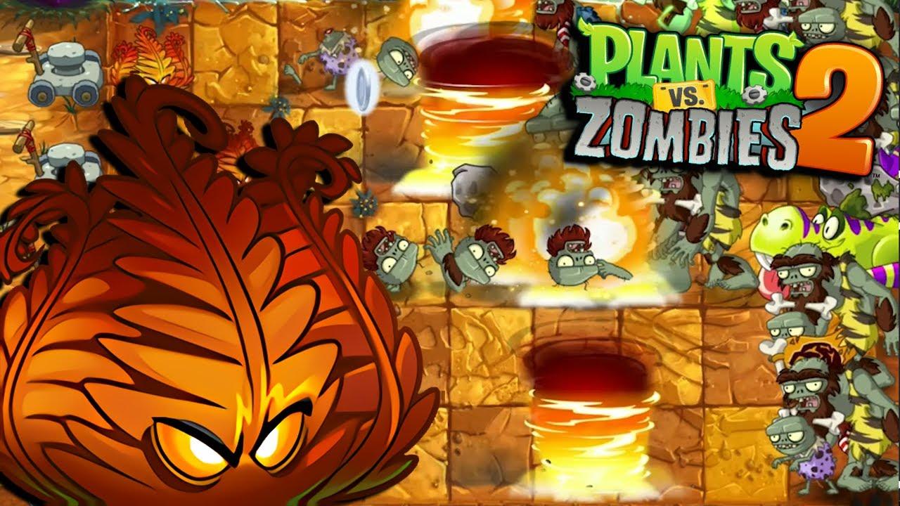 MI NUEVA PLANTA INFERNO - Plants vs Zombies 2