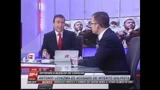Rafael Rincón en canal 24 Horas