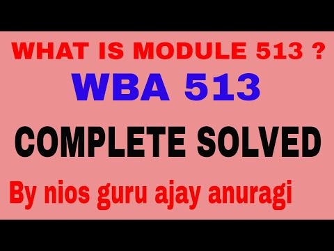 What is module 513 workshop based activities