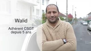 """Pour Walid, le CSGT c'est """"la sécurité à un prix intéressant"""" !"""