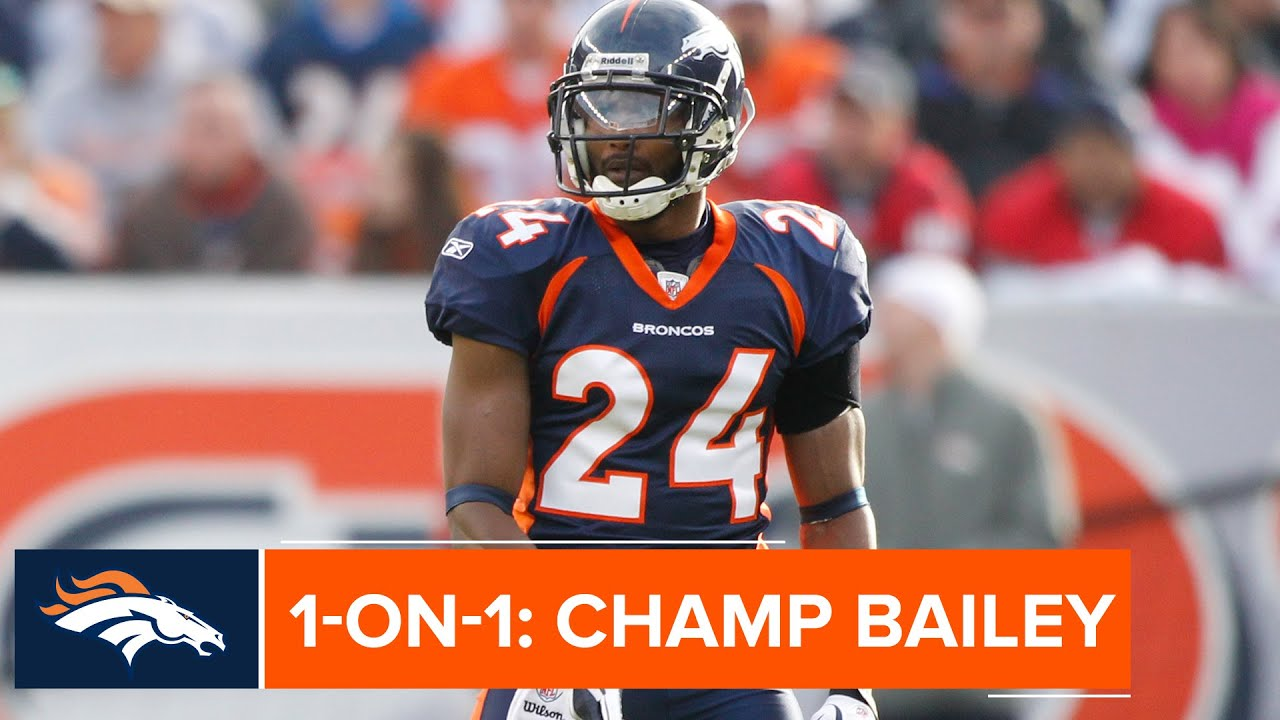 wholesale dealer d50a6 ddbda Days before Hall of Fame enshrinement, 'it's starting to feel real' for  Champ Bailey