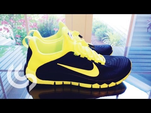 1afd0ed0d5f78 Nike Free Trainer 5.0 2014 Volt Turbo Green - Review + On Feet - YouTube