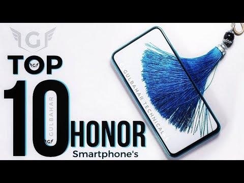 Top 10 Honor Smartphone To Buy In 2018 - 2019!