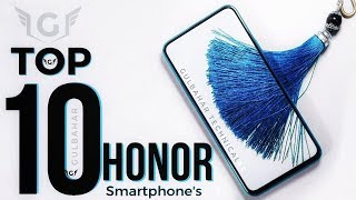 Top 10 Honor Smartphone to buy in 2018 - 2019!