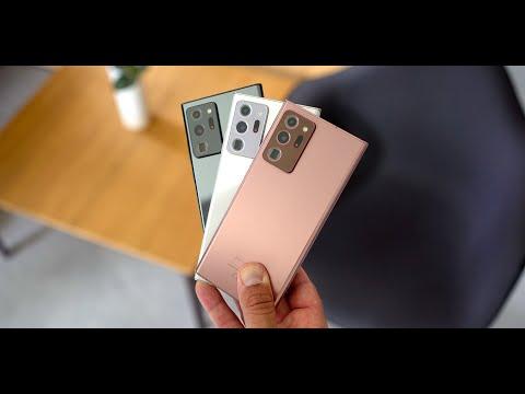Samsung Galaxy Note 20 & Galaxy Note 20 ULTRA 5G: erster Eindruck & Hands-on | deutsch