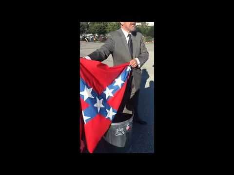 Activist Gene Stilp plans to burn 'Nazi-Confederate' flag at NASCAR in Alabama