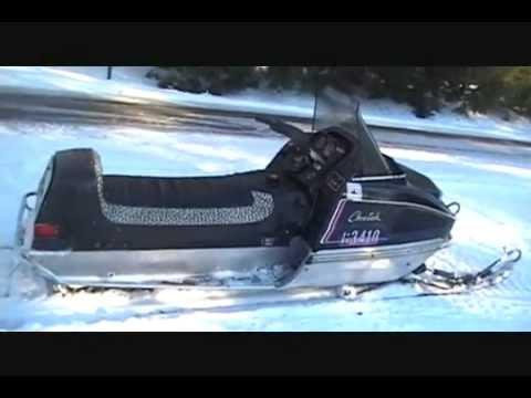 Arctic Cat Skidoo >> 1975 Arctic Cat Cheetah 295 Sachs Wankel rotary snowmobile - YouTube