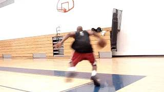 Dre Baldwin: Double Crossover Dwyane Wade 2-Foot Dunk from Wing | Explosive Aggressive Scoring Moves