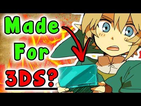Was Zelda Link's Awakening SWITCH/HD Originally for the 3DS? - The Legend Of Zelda Series