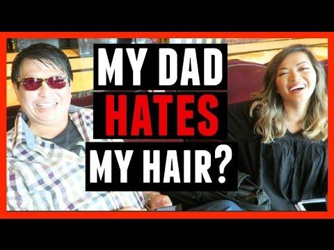 MY DAD HATES MY HAIR?! - 동영상