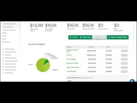 Venture360 Investor Group Demo Video