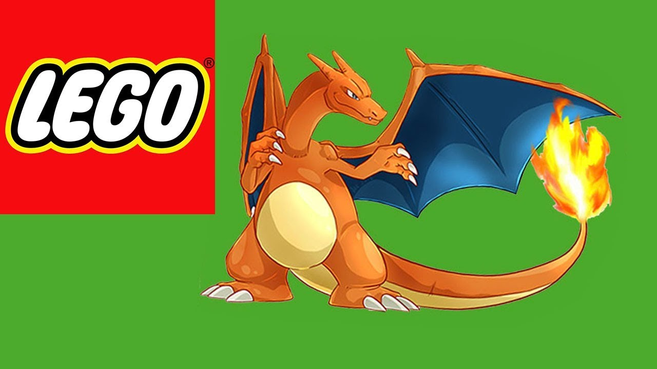How To Lego Build A Charizard