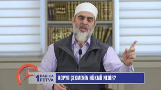 Kopya Çekmenin Hükmü Nedir? & Nureddin Yıldız