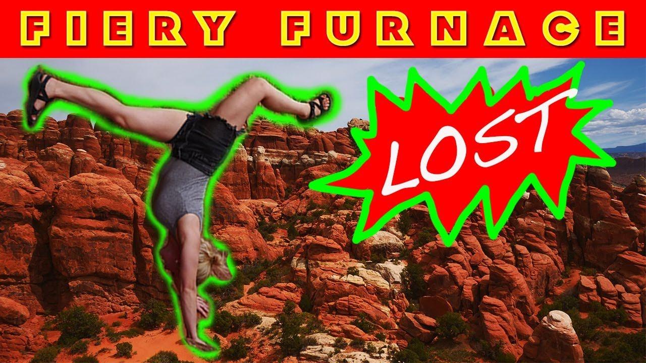 Lost in the Fiery Furnace of Moab