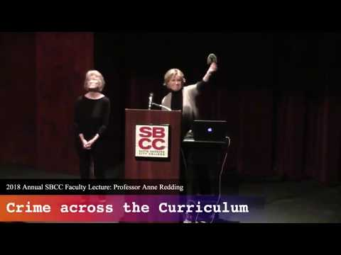 Anne Redding Faculty Lecture 2018 SBCC
