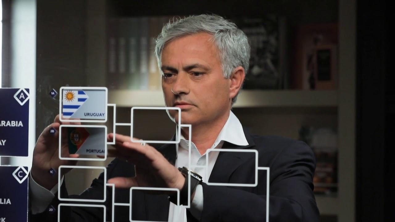 Coupe du Monde FIFA 2018  : Découvrez les pronostics de José Mourinho