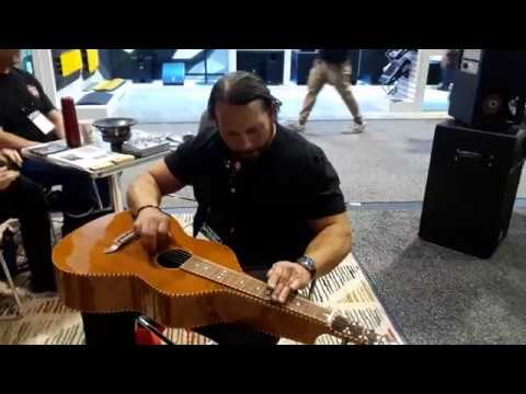 Jim Woods 2018 NAMM Weissenborn Performance