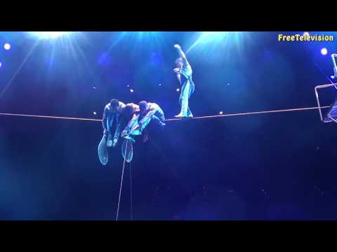 Most Thrilling- Ringling Bros Circus Tightrope Walks