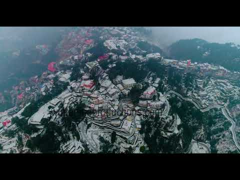 Mussoorie Snowfall | January | 2019 | Uttarakhand | Must Watch |Aerial View | First Snowfall
